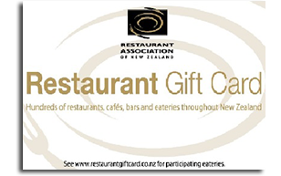Restaurant Association Gift Card